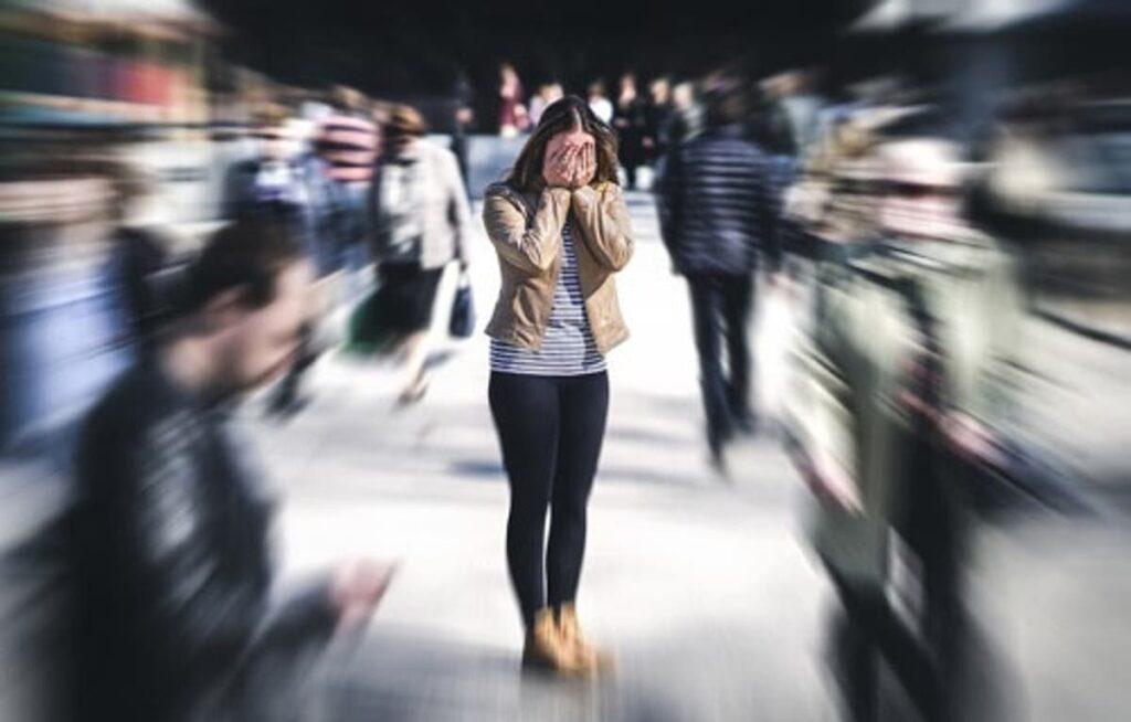 ansia sociale paura fobia